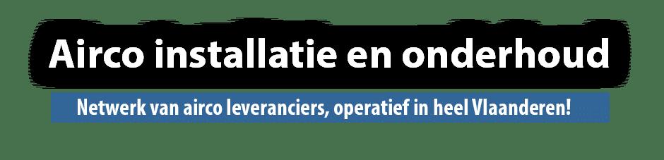 Airco leveranciers