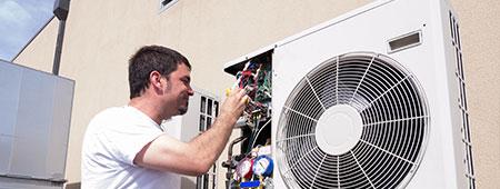 airco of warmtepomp herstellen